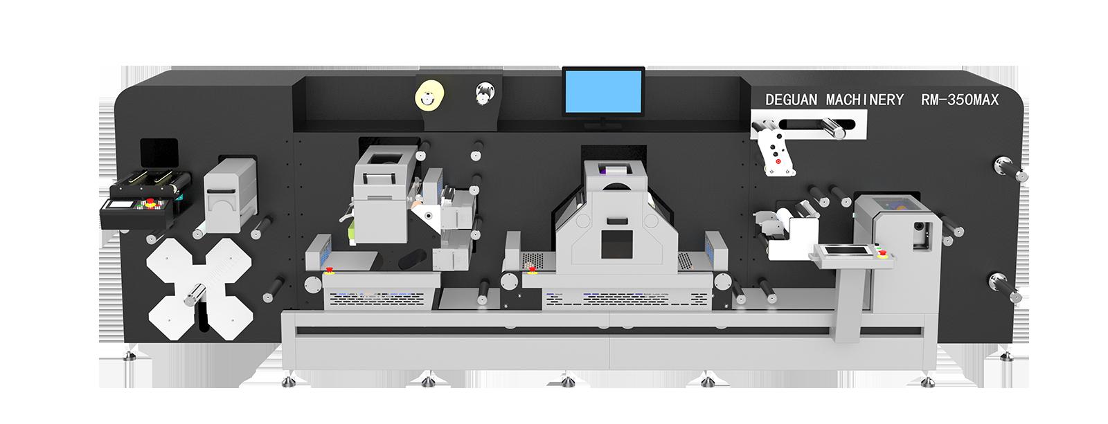 Modular machine high - speed batch printing die - cutting