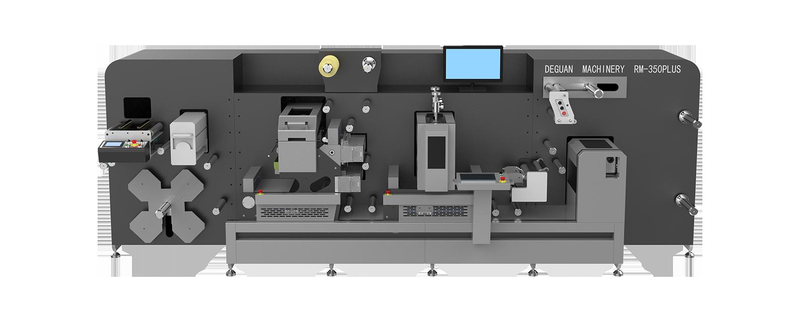 Modular machine batch printing die - cutting